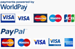 Payment types from WorldPay