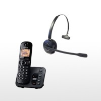 Panasonic Cordless and DECT GAP Wireless Headset