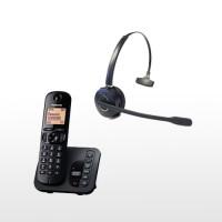Panasonic Cordless and DECT GAP Wireless Headset