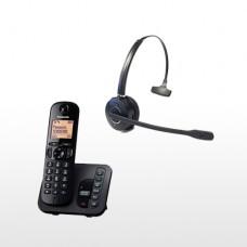 Panasonic Cordless and LONG RANGE  DECT  Wireless Headset