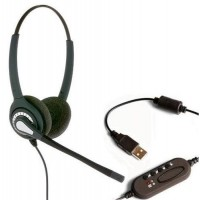 Communicator/ JPL  Liberty Binaural PC Headset