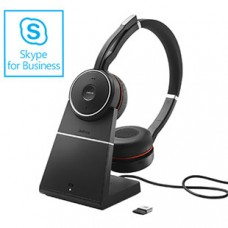 Jabra Evolve 75 MS Stereo Noise Cancelling and Charging Stand