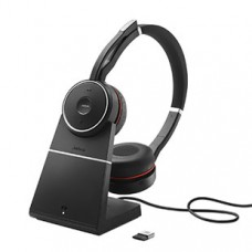 Jabra Evolve 75 UC Stereo Noise Cancelling and Charging Stand