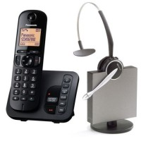 Panasonic KX-TGC 220 and Jabra GN9120DG Wireless Headset