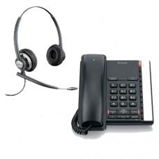 BT Converse 2200+A Grade Plantronics Binaural Headset