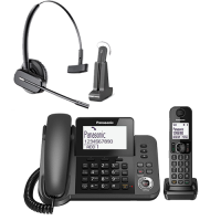 Panasonic Speakerphone & Dect Combo & Wireless Headst