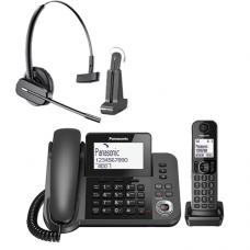Panasonic Speakerphone  Combo & Wireless Headset