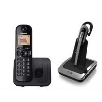 Panasonic 210 Cordless Dect Plus BT H55 Wireless Headset