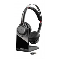 Plantronics Plx Voyager Focus UC B825-M Worldwide With Stand