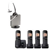 Panasonic KXTG 224EB & Jabra GN9120DG package