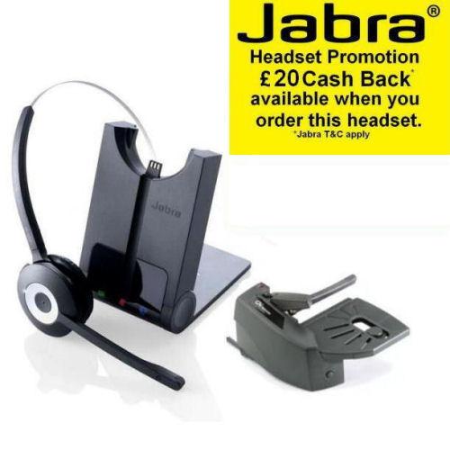 Wireless Headsets Gn Jabra Pro 920 Dect Wireless Headset: Jabra Pro 920 Wireless Headset With GN1000